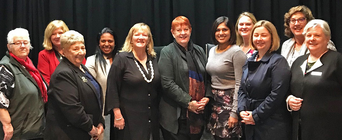 ALGWA NSW executive committee met in Liverpool on Saturday May 16. They were welcomed by Cr Wendy Waller, centre, Mayor of Liverpoool City Council